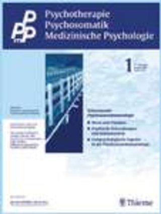 PPmP Psychotherapie · Psychosomatik · Medizinische Psychologie