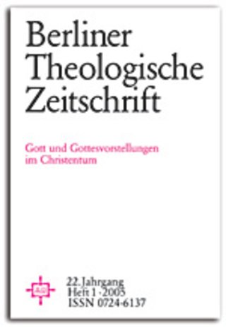 Berliner Theologische Zeitschrift