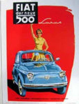 Poster, Postkarten und Kalender von Klassischen Automobilen