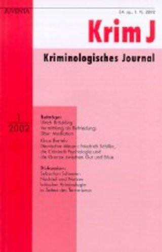 Kriminologisches Journal