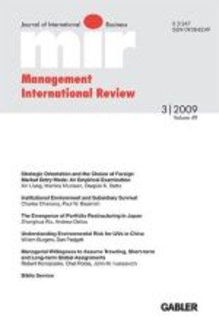 Management International Review - mir