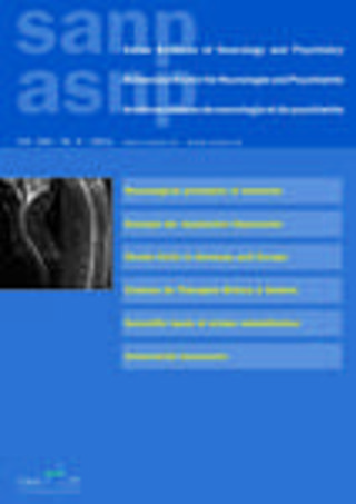 Schweizer Archiv für Neurologie und Psychiatrie