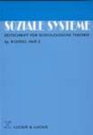 SOZIALE SYSTEME