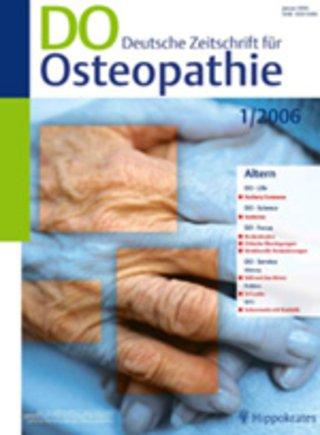 DO Deutsche Zeitschrift für Osteopathie