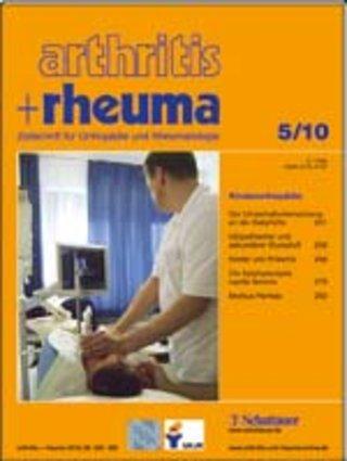 arthritis + rheuma