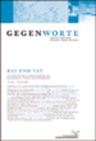 GEGENWORTE