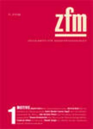 Zeitschrift für Medienwissenschaft