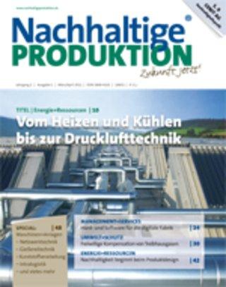 Nachhaltige PRODUKTION - Zukunft jetzt!.