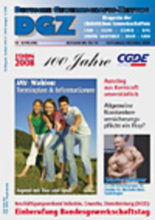 DGZ Deutsche Gewerkschafts-Zeitung
