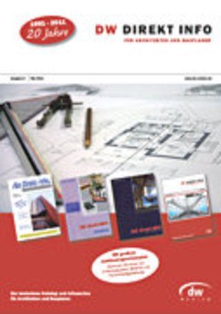 DW DIREKT INFO für Architekten und Bauplaner