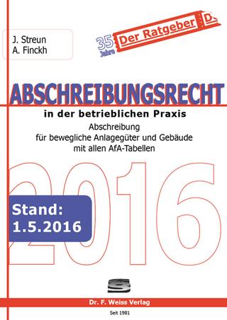 Abschreibungsrecht 2016