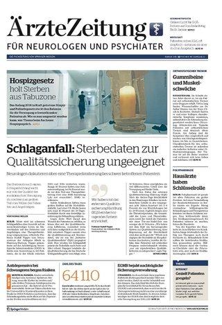 Ärzte Zeitung für Neurologen/Psychiater