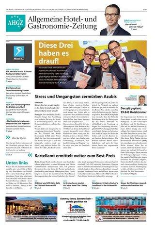 AHGZ - Allgemeine Hotel- und Gastronomie-Zeitung