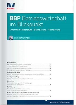 BBP Betriebswirtschaft im Blickpunkt