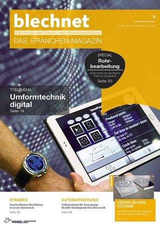 blechnet - Das Branchenmagazin für Profis der Blech- und Rohrbearbeitung