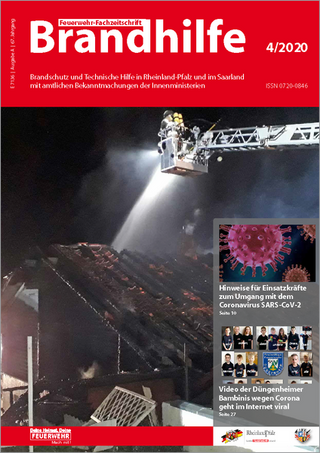 BRANDHILFE Ausgabe Rheinland-Pfalz/Saarland
