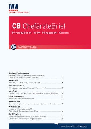 CB ChefärzteBrief