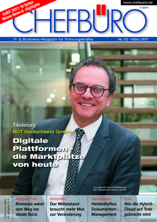 CHEFBÜRO - IT- & Business-Magazin