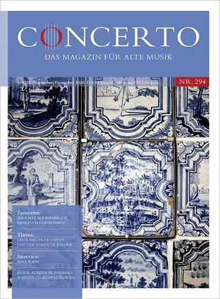 CONCERTO - Das Magazin für Alte Musik