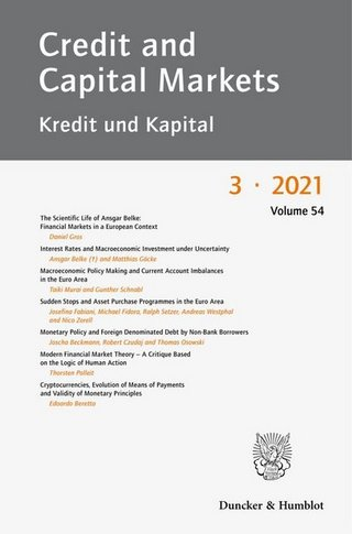 Credit and Capital Markets