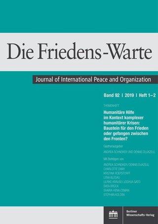 Die Friedens-Warte