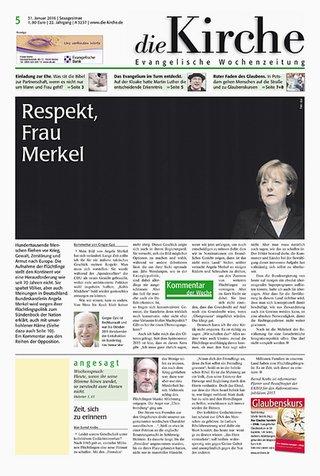 die Kirche - Evangelische Wochenzeitung