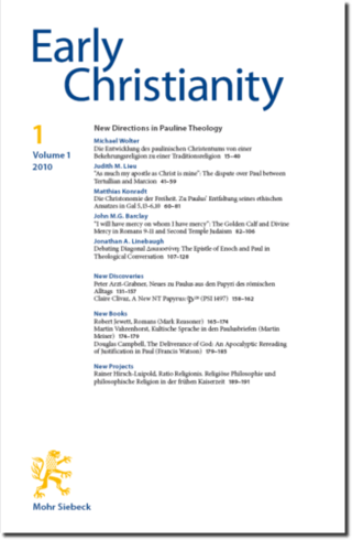 Early Christianity (EC)