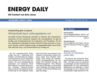 Energy Daily