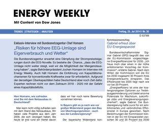 Energy Weekly