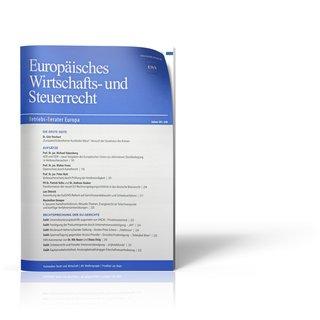 Europäisches Wirtschafts- und Steuerrecht (EWS)
