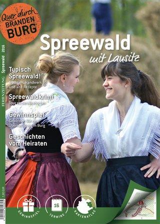 Ferienzeitung Spreewald mit Lausitz 2016