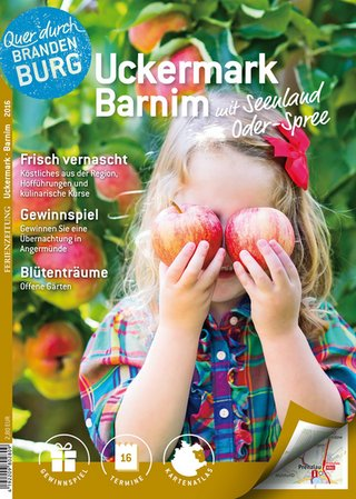 Ferienzeitung Uckermark- Barnim mit Seenland Oder-Spree 2016