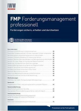 FMP Forderungsmanagement professionell