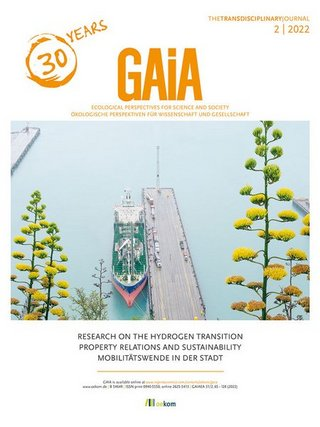 GAIA. Ecological Perspectives for Science and Society