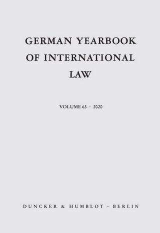 German Yearbook of International Law / Jahrbuch für Internationales Recht