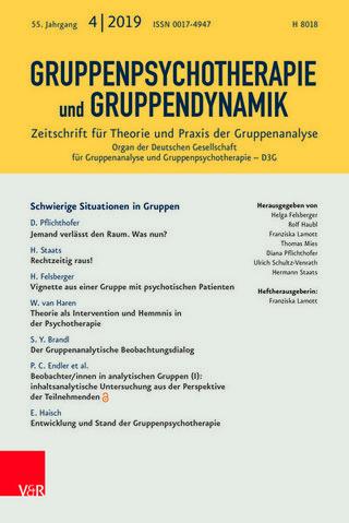 Gruppenpsychotherapie und Gruppendynamik