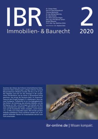 IBR Immobilien- & Baurecht