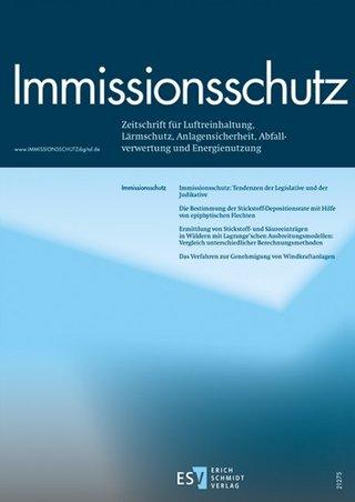 Immissionsschutz