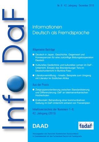 Info DaF - Informationen Deutsch als Fremdsprache