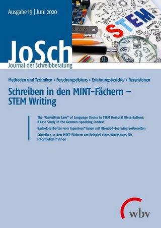 JoSch - Journal der Schreibberatung