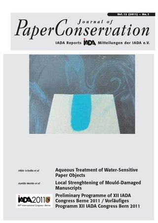 Journal of PaperConservation
