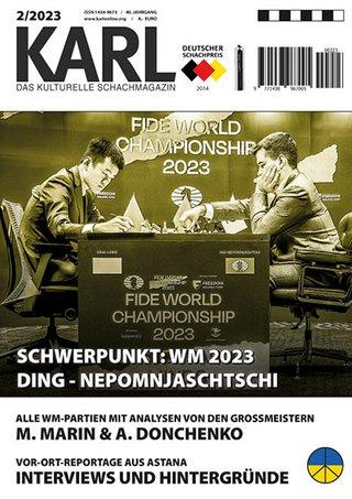 Karl - Das kulturelle Schachmagazin