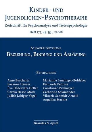 Kinder- und Jugendlichen-Psychotherapie – Zeitschrift für Psychoanalyse und Tiefenpsychologie
