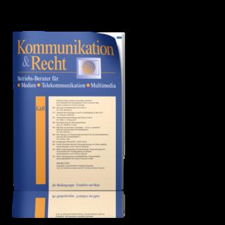 Kommunikation & Recht (K&R)