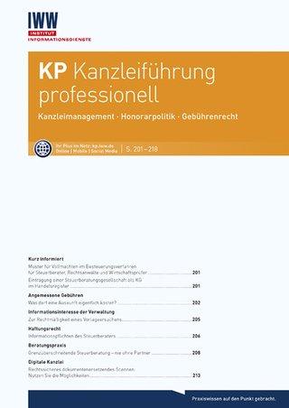 KP Kanzleiführung professionell