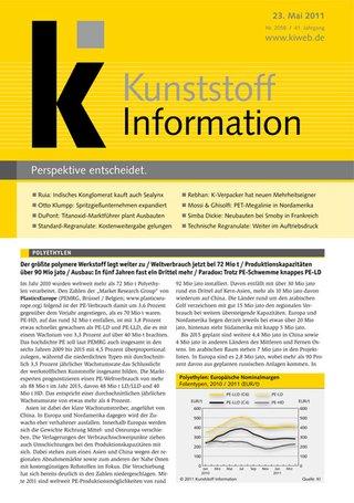 KI - Kunststoff Information