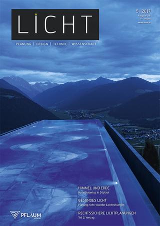 Abo Fachzeitschrift: LICHT | Umwelt - Energie - Erneuerbare Energien