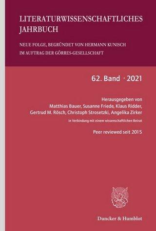 Literaturwissenschaftliches Jahrbuch. Neue Folge (LJB)