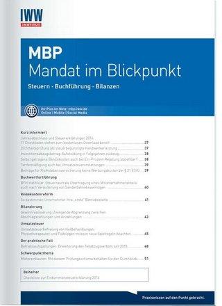 MBP Mandat im Blickpunkt
