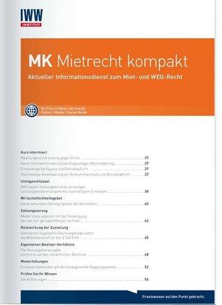 MK Mietrecht kompakt